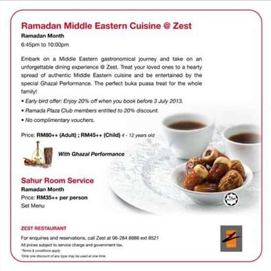 buffet-ramadhan-ramada-plaza-melaka