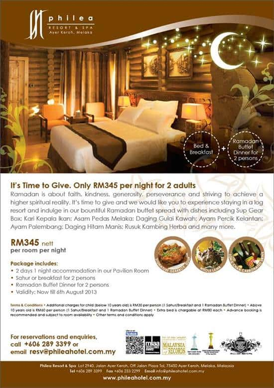 Philea Resort Ramadhan Accomodation Package