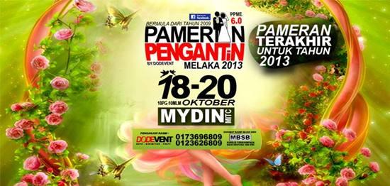 Pameran Pengantin Melaka 2013