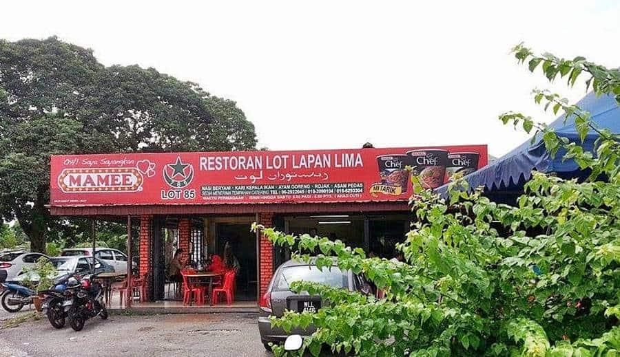 Restoran Lot Lapan Lima